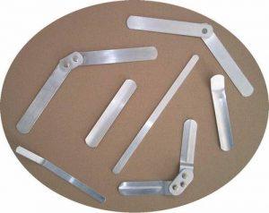 pièce aluminium pour le paramédical